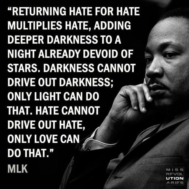 MLK love